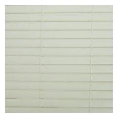 "1/4"" PVC Cord Free Roll-Up, White, 96x72"