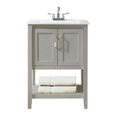 Legion Furniture Sink Vanity Without Faucet 24 Gray Bathroom Vanities And