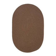 Colonial Mills, Inc - Colonial Mills Boca Raton BR83 Cashew 9' x 9' Round - Outdoor Rugs