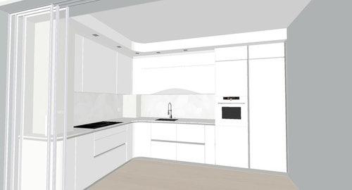 urgente: spazio tra cartongesso e pensili cucina