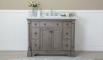 Up to 70% Off Single-Sink Vanities With Free Shipping