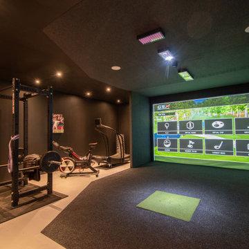 Ben Stokes Golf Simulator