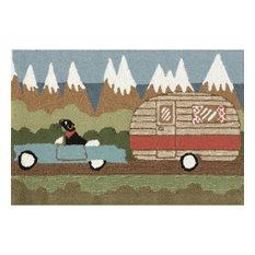 "Frontporch Camping Dog Mat, Green, 24""x36"""