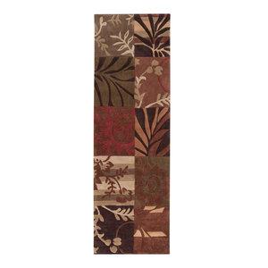Surya Cosmopolitan Rectangle Gray Area Rug Contemporary