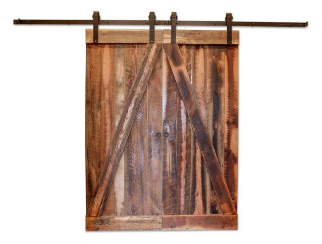 Houston Reclaimed Barn Wood Door Rustic Interior Doors By