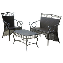Tropical Outdoor Lounge Sets by International Caravan