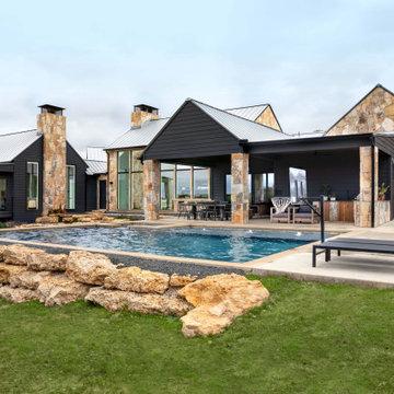 Modern Homestead Backyard