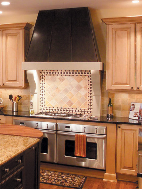 Modern Cast Stone Kitchen Range Hood   Range Hoods And Vents