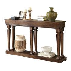 """Garrison Console Table, Oak, 72"""""""