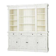 Bookcase, Roosevelt Estate, Harvest White