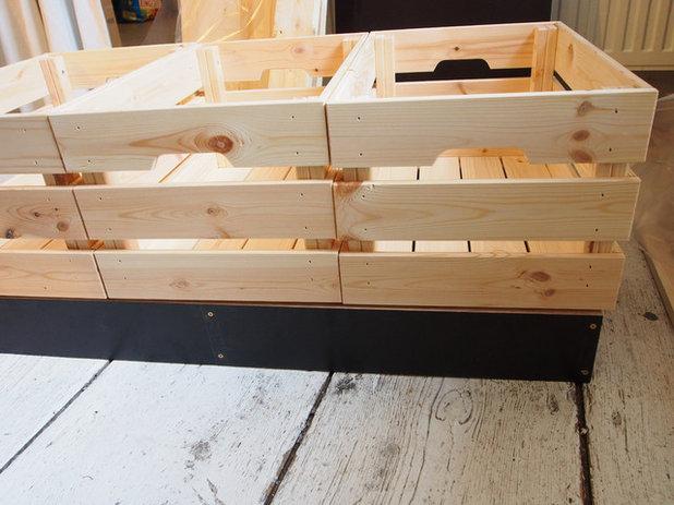 Transforma un caj n de ikea en un asiento con almacenaje for Asiento con almacenaje
