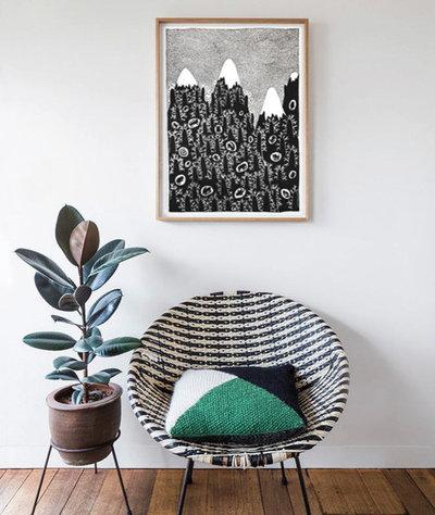 "Современный  by Онлайн галерея ""Проблемы белых стен"""