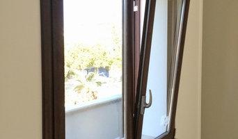 Serramenti in alluminio a taglio-termico con vetro Selettivo