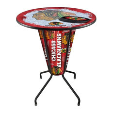 Lighted Carolina Hurricanes Pub Table