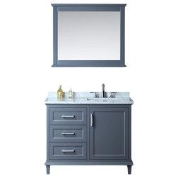 Trend Transitional Bathroom Vanities And Sink Consoles by EliteFixtures