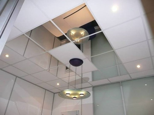Mirror Ceiling Tiles Can Make A Small E Feel Ger Easy To Install And Available In 13 Colors Learn More At Http Ids2go