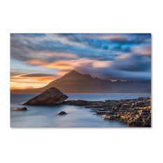 Michael Blanchette Photography 'Elgol Sunset' Canvas Art, 19x12