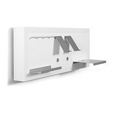 KUBENO U2013 Smartboard Set U0027Flureu0027 TA31S005, Weiß Matt   Wandregale
