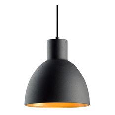 "Maxim 11022 Cora Single Light 9"" Pendant with Metal Dome Shade"