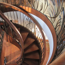 Double-Helix Staircases Twist Tradition