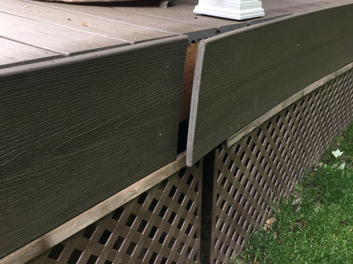 How To Fix Trex Deck Fascia Warping