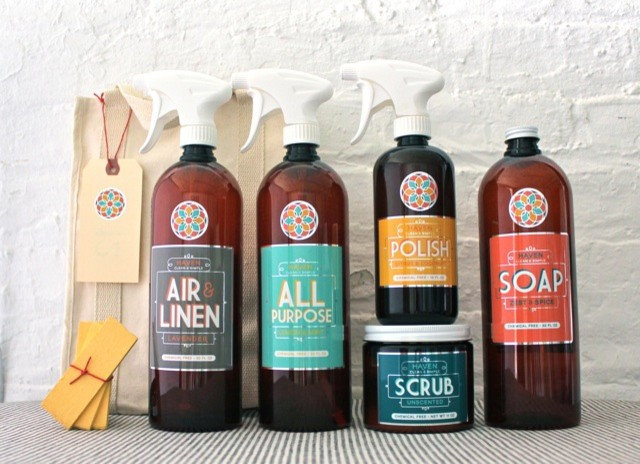 Household Cleaning Products by HAVEN Natural Home Care