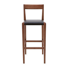 Fannie Black Counter Stool