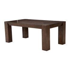 Carrollton 4 Leg Rectangular (76 In) Dining Table, Rustic Ranch