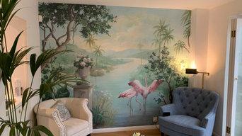 Wallpapering in Chelsea