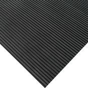 Ramp Cleat Non-Slip Outdoor Rubber Mats, 1/8 Thick, 3'x20' Floor Mat