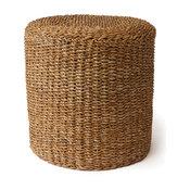 Sea Grass Round Pouf