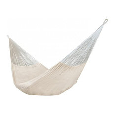 XL Thick Cord Mayan Hammock With Universal Stand, Natural