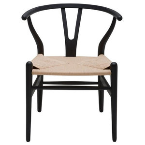 Sensational Designer Dining Chair Wood Wooden Woven With Open Y Back Bralicious Painted Fabric Chair Ideas Braliciousco