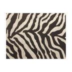 Zebra Faux Fur Upholster Fabric