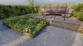 SANT CUGAT - Jardín