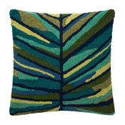 """Loloi Decorative Throw Pillow 18""""x18"""" Cover Only Green/Multi"""