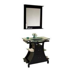 Fresca Cortese Espresso Vanity w/ Mirror