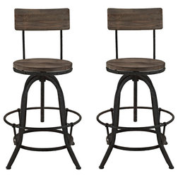Industrial Bar Stools And Counter Stools by LexMod