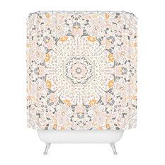 "Monika Strigel Boho Summer Gray Shower Curtain, 72""x69"""
