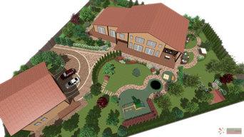 Проект сада для семьи с детьми
