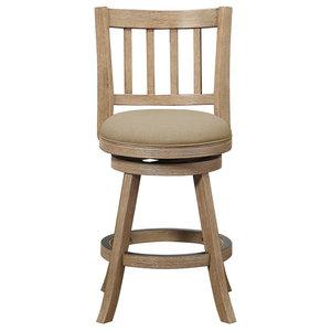 Fine Hillsdale Reydon 30 Swivel Bar Stool In White Wash Inzonedesignstudio Interior Chair Design Inzonedesignstudiocom