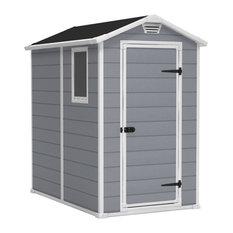 Keter Storage Shed, Grey, 140x192 cm