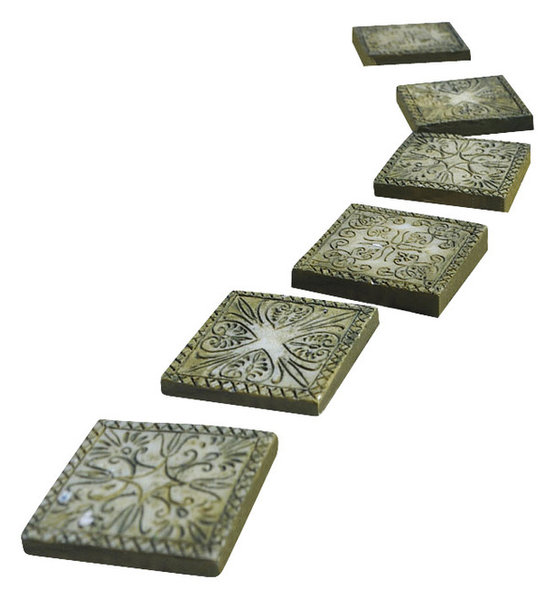 Fairy Garden Stepping Stones Fairy garden miniature stepping stones set of 6 ancient square fairy garden miniature stepping stones set of 6 ancient square workwithnaturefo
