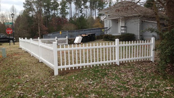 Vinyl Picket Fence Tega Cay SC