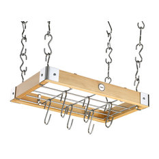 Hahn Metro Square Ceiling Rack, Natural