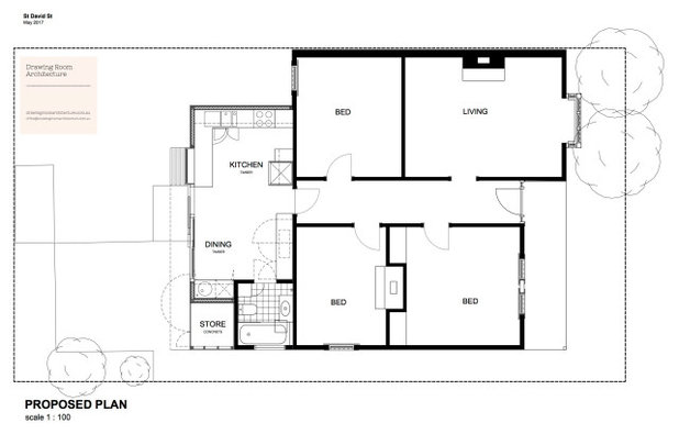 Floor Plan by Drawing Room Architecture
