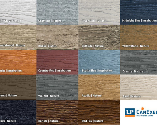 Lp Canexel Exterior Colours