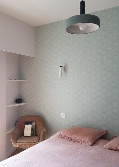 Chambre by SHK Architecture & Intérieurs