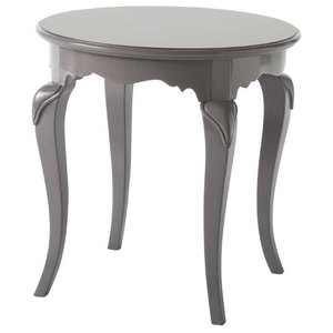 Wooden Round Side Coffee Table