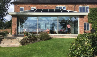 Aluminium Windows and Orangery with Sliding Doors Fitted in Farm House